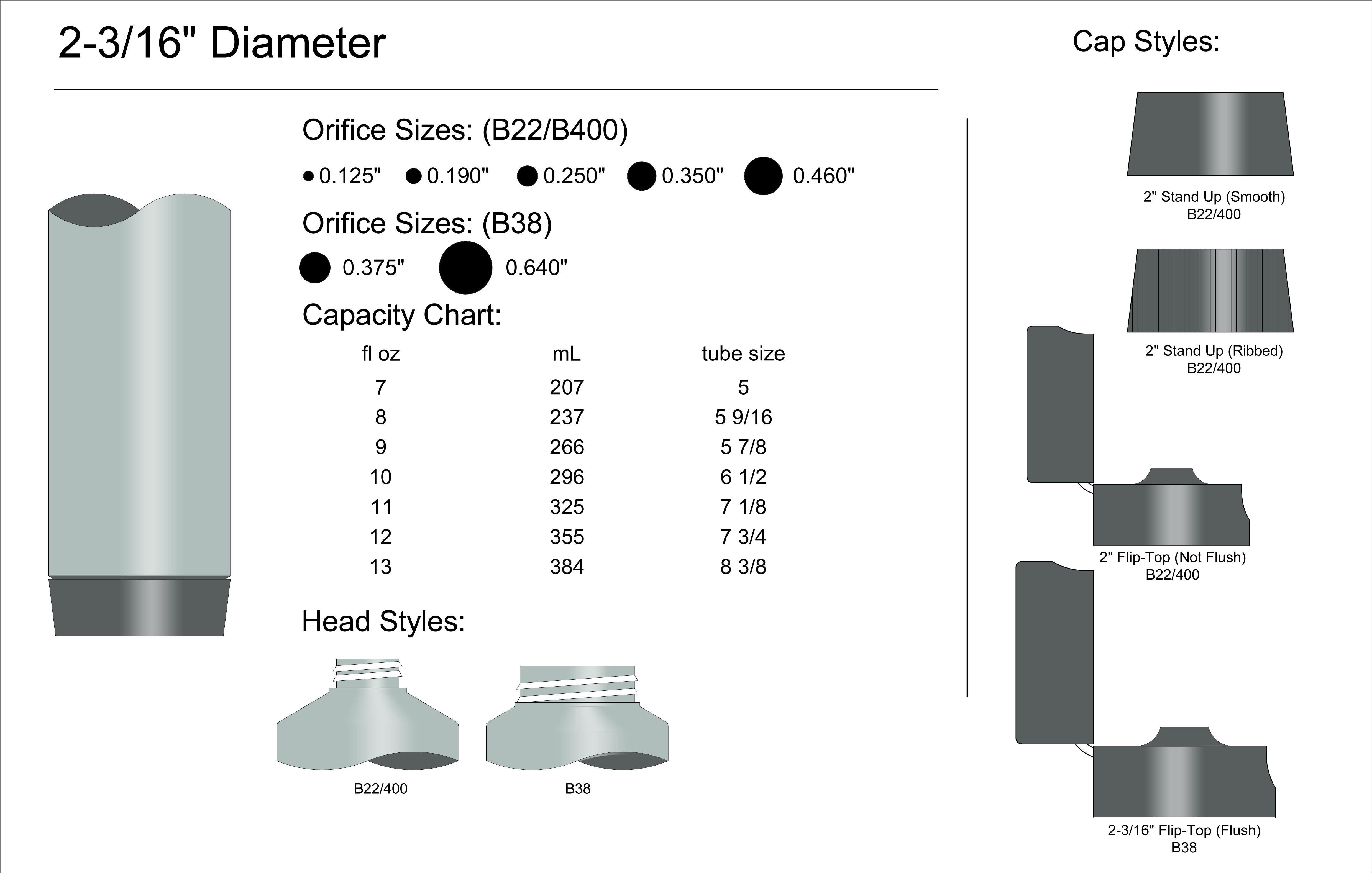 """2-3/16"""" Diameter Spec"""