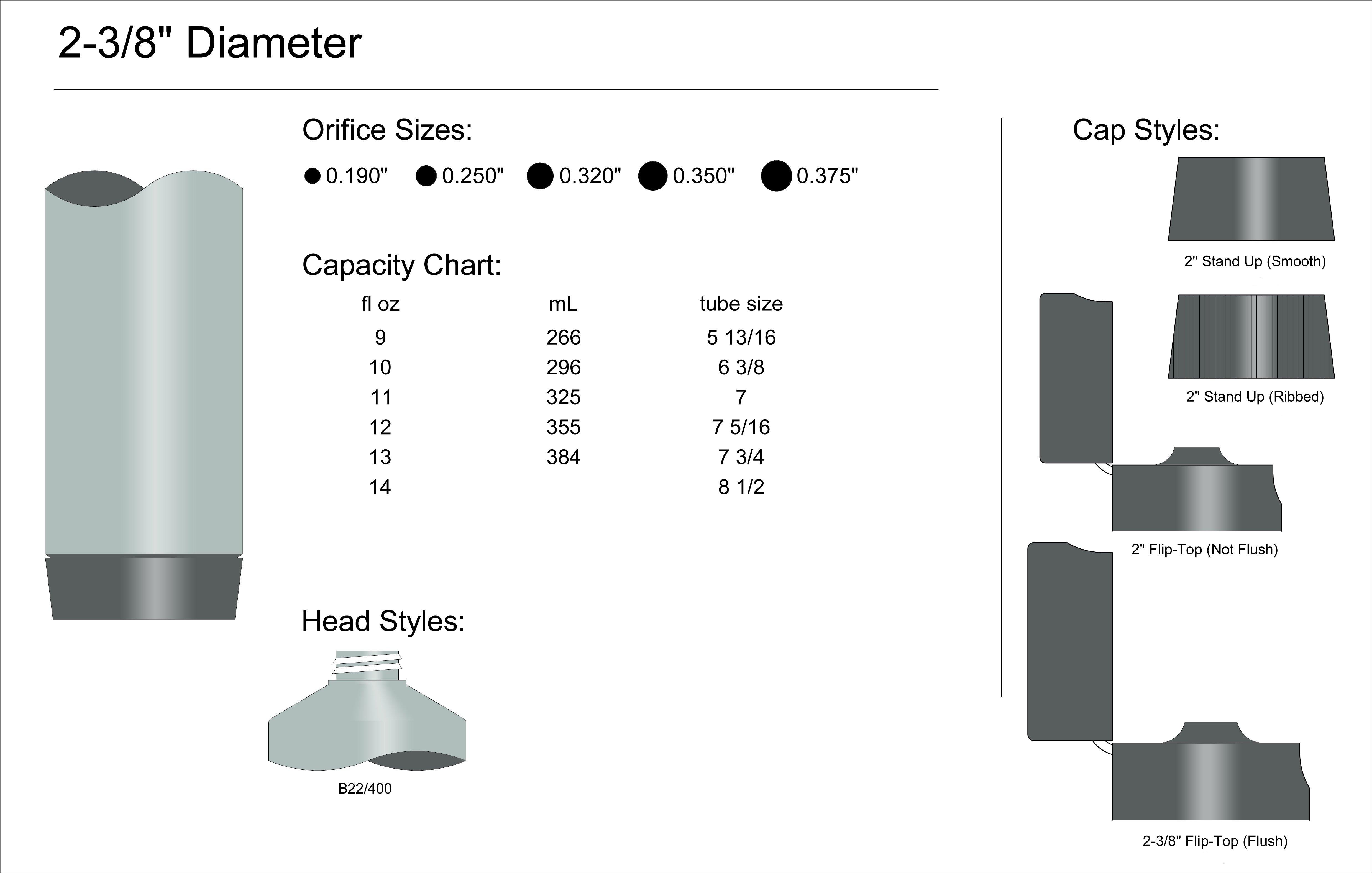 """2-3/8"""" Diameter Spec"""
